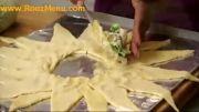 آموزش آشپزی در روزمنو - حلقه مرغ و سبزیجات