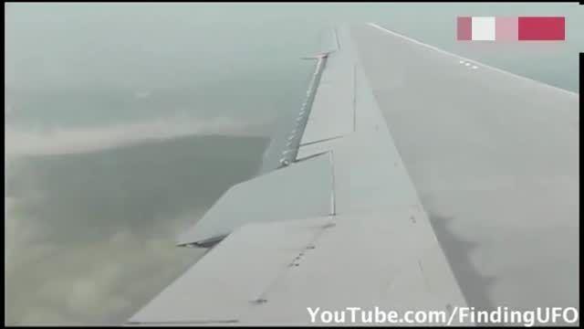 بشقاب پرنده دیسک مانند بر فراز آسمان کانبرا