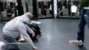تمرین جودو قهرمان زنان ufc با برادران دیاز.