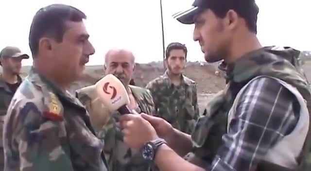 دیرالزور - عملیات ارتش عربی سوریه ضد تروریست های داعش