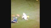 اتفاق عجیب و وحشتناک در فوتبال ...!