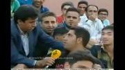 سوتی خنده دار داوود عابدی مجری دوربین خبرساز!