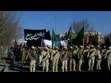 مراسم عزاداری نیروهای مسلح در یزد