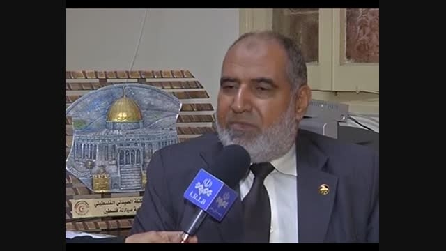 پرواز پهپاد مقاومت بر فراز سرزمین مسجد الاقصی