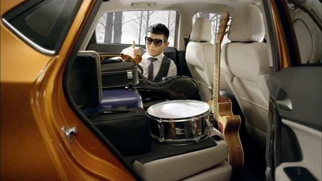 فضای داخلی جادار خودروی MG GS