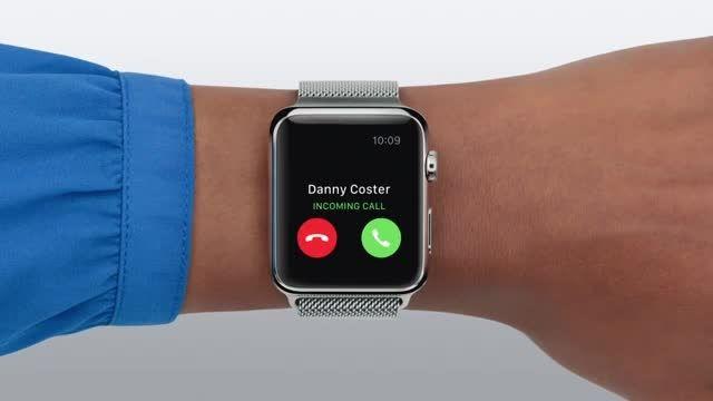 راهنمای اپل واچ: تماس تلفنی