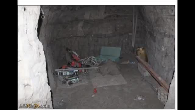 کشف تونل های رفت و آمد داعش به ترکیه توسط....عراق-سوریه