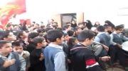 عزاداری دانش آموزان کاشانی+دبستان آیت الله کاشانی
