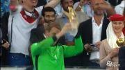 اهدای دستکش و توپ طلا جام جهانی 2014