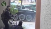 درگیری تمام عیار تروریستهای جبهه النصره با ارتش سوریه