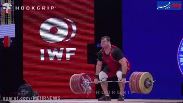 وزنه بردار روس چگونه همه رکوردهای رضازاده را شکست؟