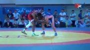 پیروزی سارگوش مقابل باروفس در نیمه نهایی وزن ۷۴ کیلوگرم