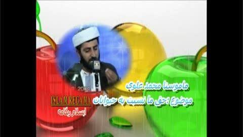 ماموستا محمد علوی حق و حقوق حیوانات در اسلام - کوردستان
