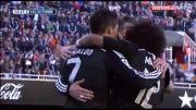شکست رئال مادرید در خانه والنسیا(خلاصه بازی)