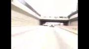 در رفتن موتور از دست پلیس