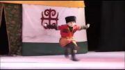 رقص ترکی کودکان-رقص زیبای کودکان ترکان نوقای از ترکان قفقاز