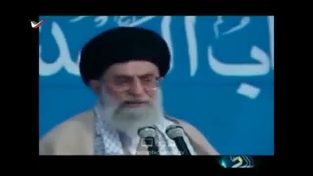 """ناراحتی مقام معظم رهبری از شعار """"جانم فدای رهبر""""!"""