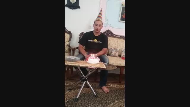 جشن  تولد 30 سالگی محمد
