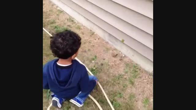 نکن بچه ترسید :))))