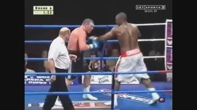 مبارزه ی دنی ویلیامز فقط با یک دست !