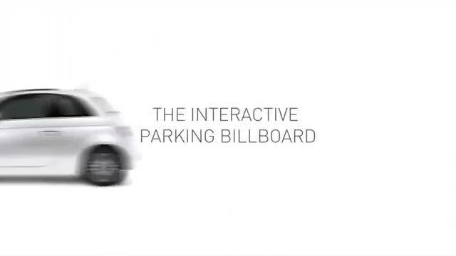 بیلبورد تبلیغاتی خلاقانه برای پارک خودرو