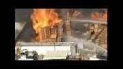 انفجار و آتش سوزی مهیب در شهر صنعتی کالیفرنیا