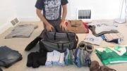 تمامی وسایل در یک چمدان - جالب