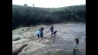 صحنه دردناک یک خانواده و دره ای هولناک .. (آرماگدون)