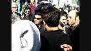 صالح پورسالم سرپرست باشگاه با حضور در کنار پرویز مظلومی
