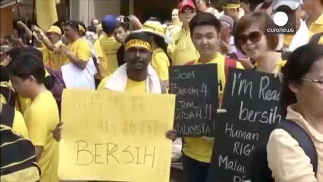 تظاهرات دهها هزار نفری ضد دولتی در مالزی