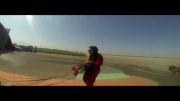 پرواز اولین زن ایرانی.عضو گروه پارکور پرواز