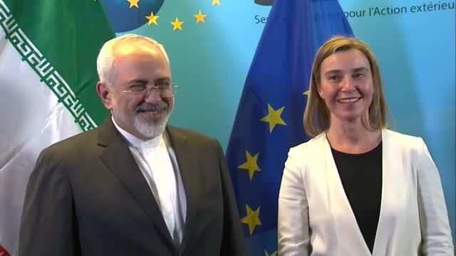 ویدیوئی از حواشی مذاکرات هسته ای ایران و 5+1