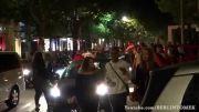 شادی مردم آلمان در خیابان ها پس از پیروزی درجام جهانی2