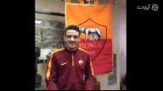 فلورنزی بعد از تمدید قرارداد با آ.اس رم