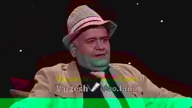 تهمت و توهین اکبر عبدی به شریفی نیا در برنامه زنده