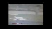 سقوط هواپیما لحظاتی پس از برخاستن از باند فرودگاه....