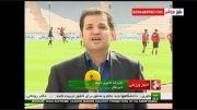 گزارش از تیم ملی ایران وکره جنوبی قبل از بازی دوستانه