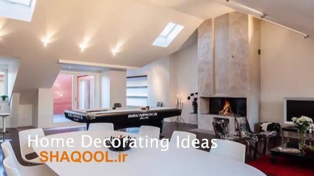 کلیپ دکوراسیون داخلی (دکوراسیون زیبا در آپارتمان مدرن)