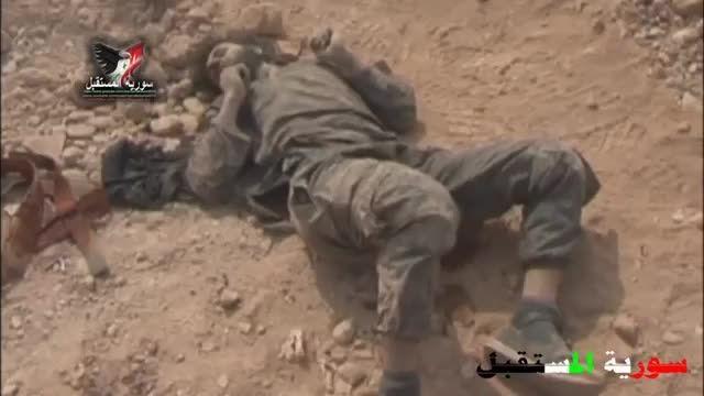 هلاکت داعشی ها در نزدیکی پالمیرا .حمص
