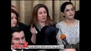 سخنرانی ناتمام توام باحزن وبغض نماینده زن مجلس عراق