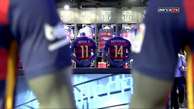 فروش پیراهن های فصل 2015-2016 بارسلونا