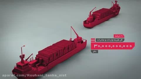 تحریم ها روزی چند میلیون دلار به ایران ضرر زدند؟