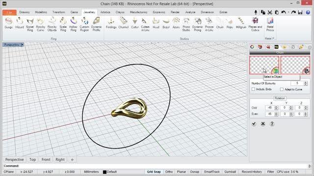 دانلود نرم افزار ساخت طلا و جواهرات RhinoGold
