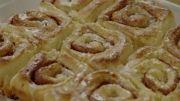 رول های دارچینی سیبزمینی