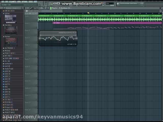 ریتم 6 و 8 با اف ال استودیو سازنده کیوان موزیک