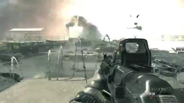 حمله تروریستی دیشب فرانسه منو یاد این صحنه انداخت  /: