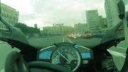 رانندگی با سرعت 280 کیلومتر در خیابانهای مسکو