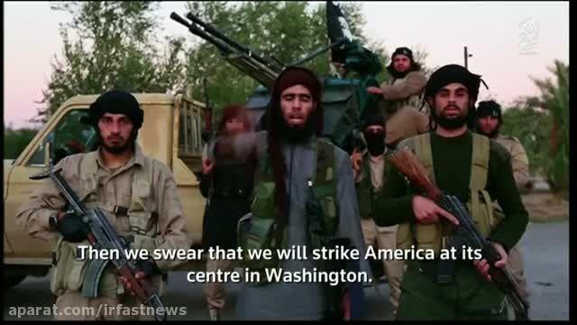 ویدیوی منتشر شده از تهدید دوباره فرانسه توسط داعش