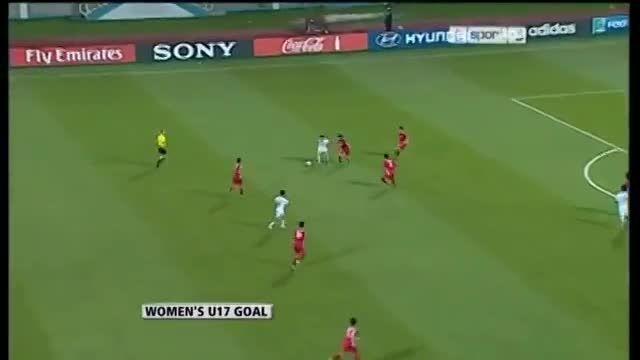زیبا ترین گل تاریخ فوتبال زنان