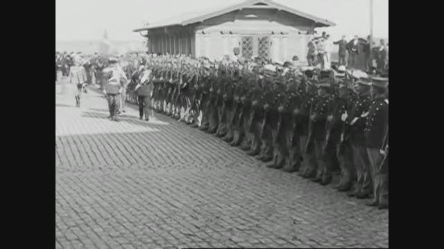 تزار نیکلاس دوم در دانمارک(1901)